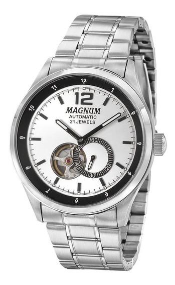 Relógio Magnum Automatic 21 Jewels Ma33906q