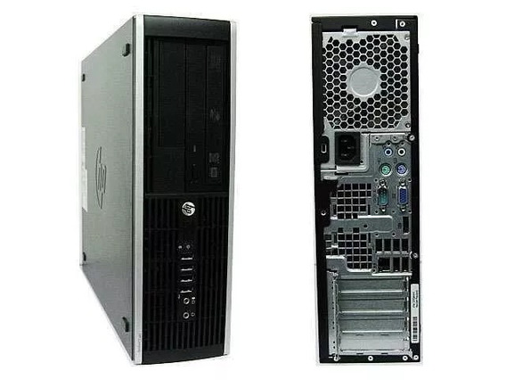 Cpu Hp 8000 Core 2 Duo E8400 4gb Hd 320 Ddr3 + Monitor