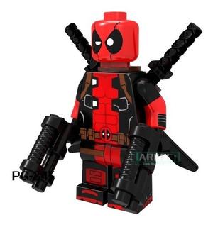 Minifiguras Avenger Trex Hombre Deadpool Batman