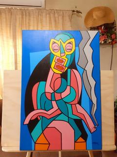 Obra Del Gran Pintor Jaime Flores