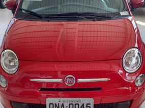 Fiat 500 Cult 1.4 8v Flex Com Teto 2017 0 Km - Ipva Pago
