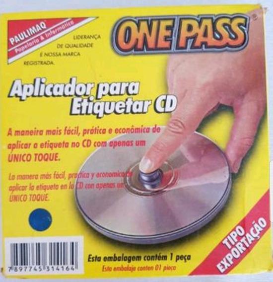 Aplicador De Etiqueta Em Cd E Dvd Ou Blu-ray