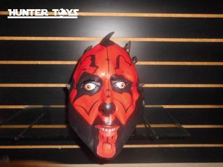 Usado Star Wars, Darth Maul, Mascara De Latex, Tel.35846340