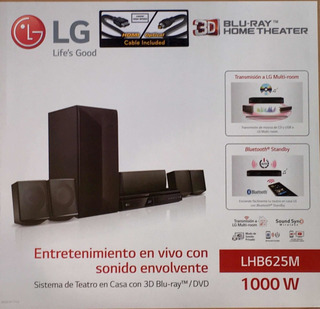 Equipo Home Theater Lg