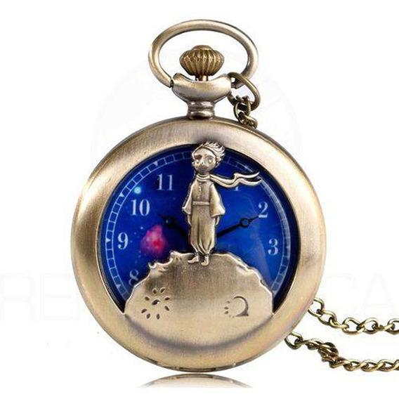 Relógio Pequeno Príncipe De Bolso Antoine De Saint-exupéry