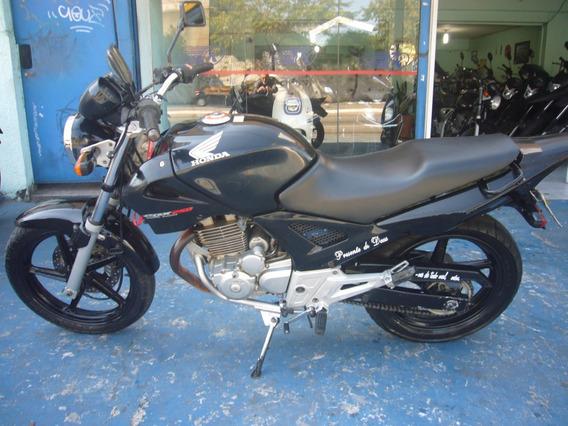 Honda Cbx 250 Twister 2005 Preta R$ 5.599 Troco E Financia