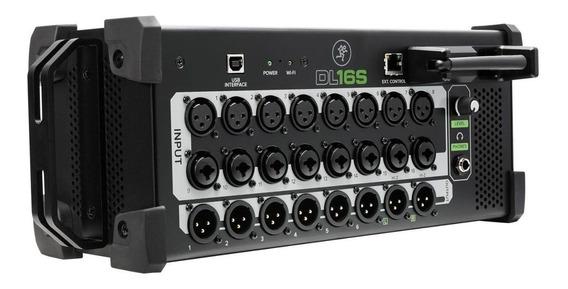 Mesa De Som Digital Mackie Dl16s 16 Canais Interface 6 Aux
