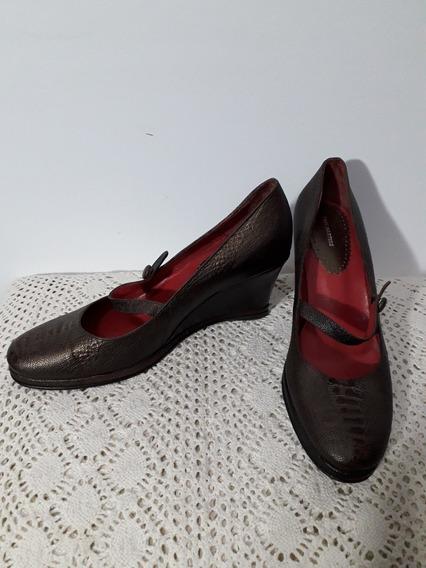 Sofi Martire Como Nuevos Zapatos Tipo Guillerminas 36 Comod