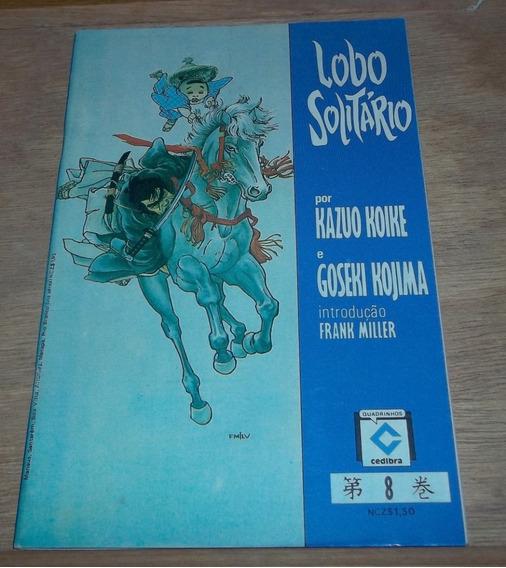 Lobo Solitário Nº 8 - Ano De 1989 - Frete Grátis