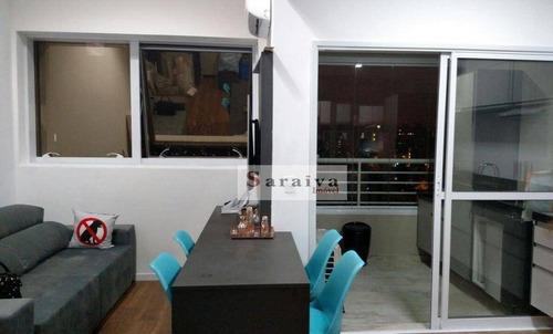 Loft Com 1 Dormitório À Venda, 60 M² Por R$ 585.000,00 - Jardim Do Mar - São Bernardo Do Campo/sp - Lf0018