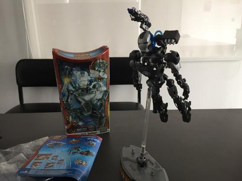 Figura Mega Bloks Marvel Iron Man 2 War Machine Set 1979