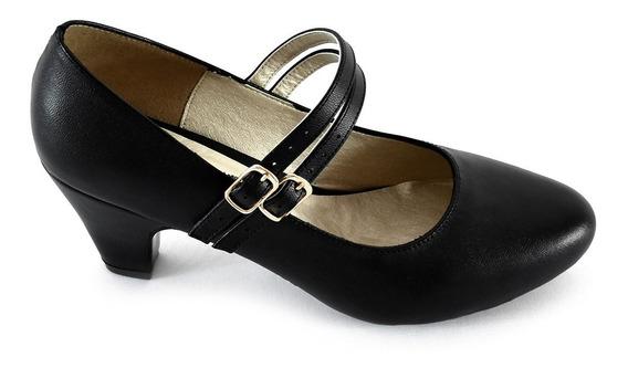 Zapatos Zapatillas Tacones Mujer Zapatilla Confort Dama Colores Modelos Diseño Calidad -02