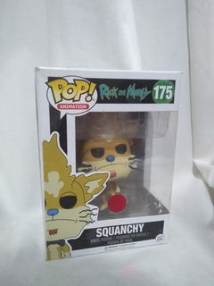 Funko Pop - Rick And Morty - Squanchy #175