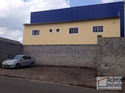 Itaquaquecetuba - Galpão Com Ótima Localização - Ocupação Imediata! - Ga0130