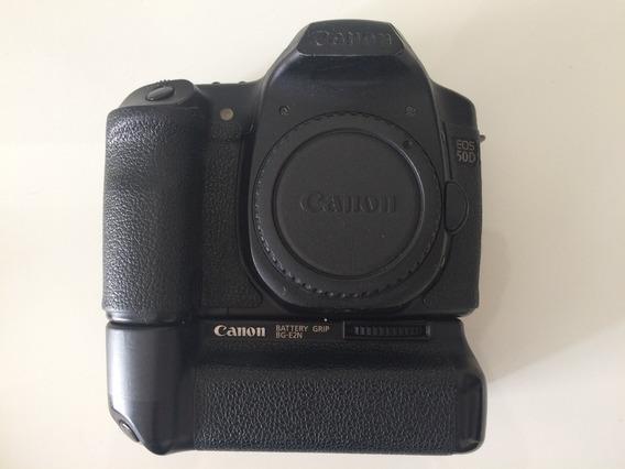 Câmera Canon 50d Com Grip Original