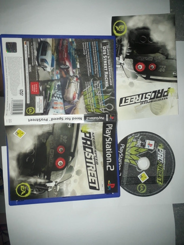Ps2 Original- Need For Speed: Pro Street