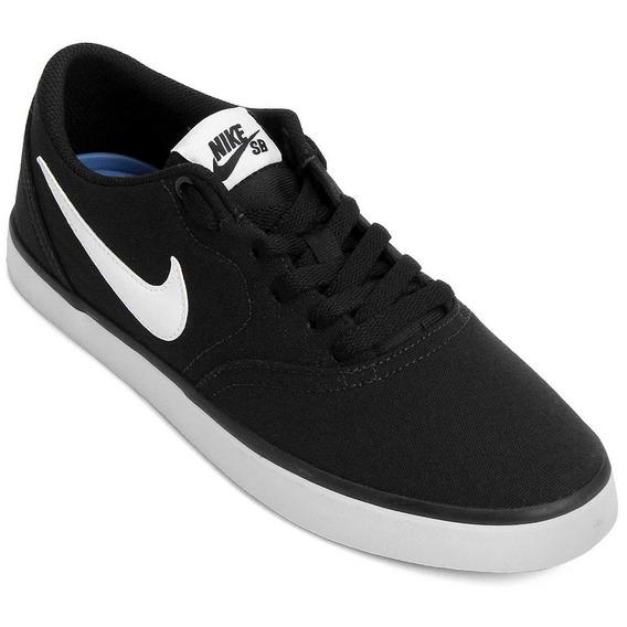 Tênis Nike Sb Check Solar Preto/branco