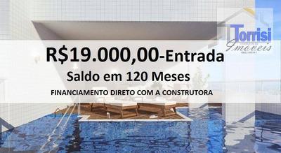 Lançamento Em Praia Grande R$ 32.000,00 De Entrada. 01 Dormitório, Sacada Gormet. Lazer Completo No Balneário Maracanã Ap1369 - Ap1369