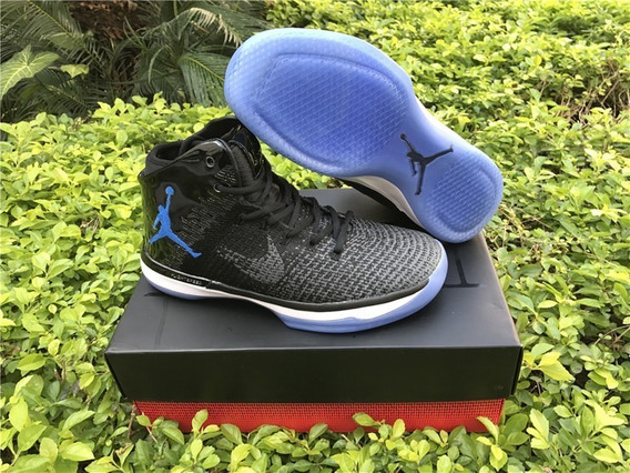 Tenis Air Jordan 31s Xxx1 Royal Black Gameroyal Originales