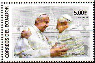 Ecuador 2013 - Papas Francisco Y Benedicto Xvi (1)