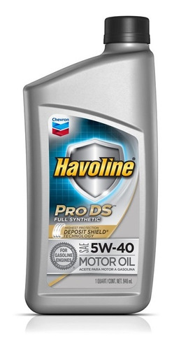 Imagen 1 de 7 de Aceite 5w40 Havoline Synthetic Usa Pro Ds - Mileban