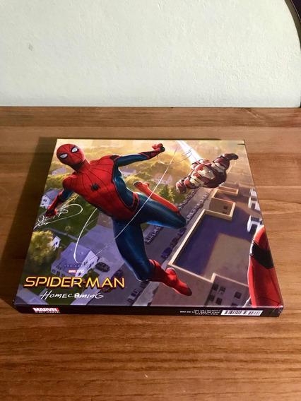 Livro The Art Of Marvel Spider Man Homecoming Homem Aranha