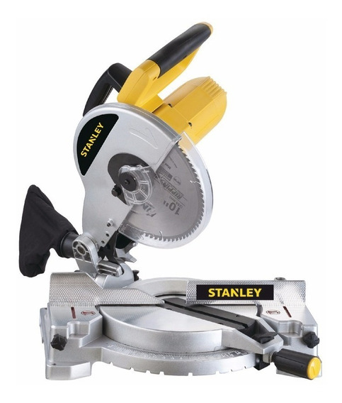 Sierra Ingletadora 1500w 254mm + Disco Stanley Stsm1525
