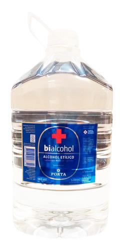 Alcohol Etilico Bialcohol Porta 96° 5lt Bidon