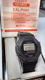 Citizen P080 Zero Com Manual - Rarissimo