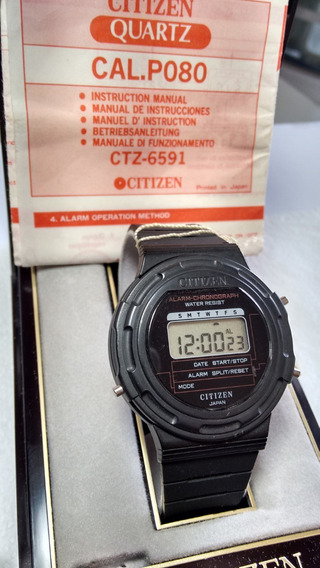 Citizen P080 Zero Com Manual - Rarissimo