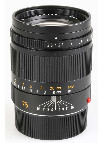 Objetiva Leica Summarit-m 75mm F2.5 (6-bits)