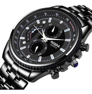 Reloj Acero Para Hombre Rosra Black - Detal Y Por Mayor