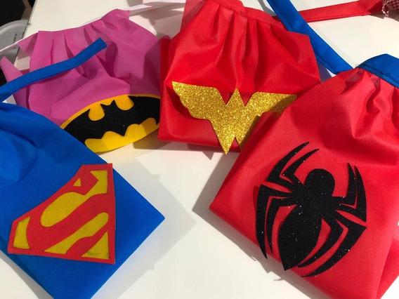 Capas Superhéroes!! Suvenirs, Disfraz