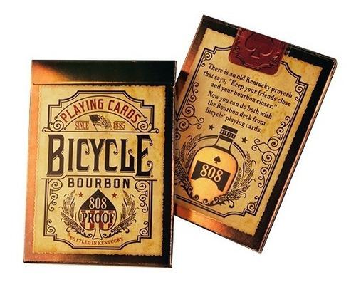 Baraja Bicycle Cartas Bourbon 808