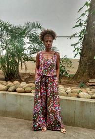 Macacão Malha Pantalona Thaís