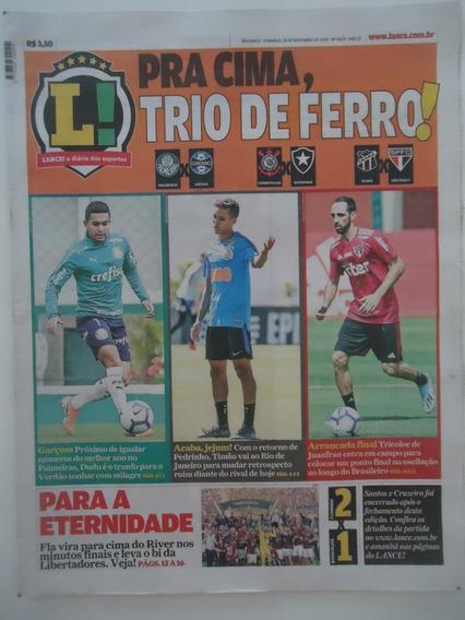 Jornal Lance 24-nov-2019 Flamengo Bi Campeão Libertadores