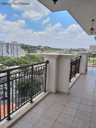Apartamento No Condomínio Campos Elíseos - Campos Elísios - Jundiaí - Ap04380 - 34837556