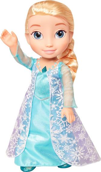 Muñeca Elsa Frozen Canta Y Su Vestido Se Ilumina