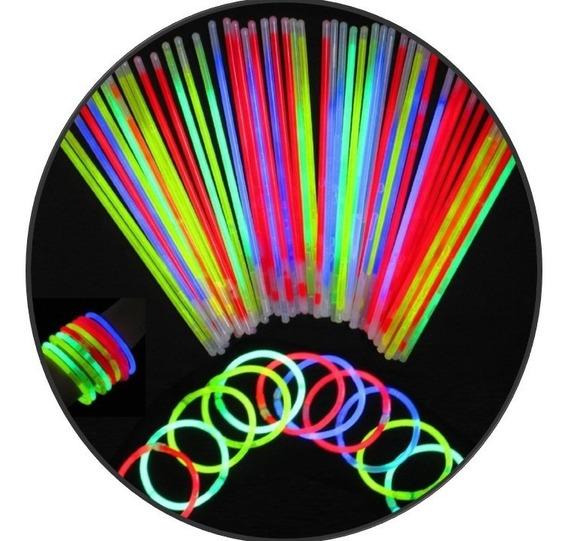 245 Pulsera Neon Cyalume Luminosa Glow Fiesta Boda Batucada
