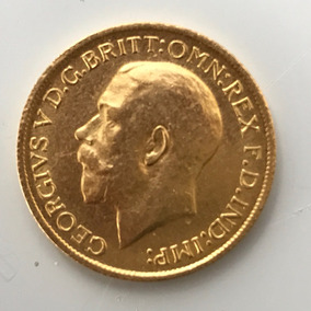 Moeda Antiga Em Ouro Puro 24k