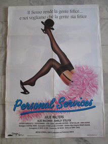Personal Services Cartaz Original Cinema 140x100cm
