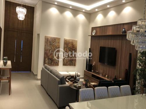 Tamboré - Jaguariúna. Casa Novinha, Térrea Com 233 M² De Construção, Condomínio De Alto Padrão, Com Toda Comodidade - Ca00861 - 68211041