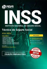 Apostila Inss 2018 Tecnico De Seguro Social