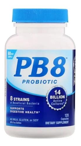 Imagem 1 de 1 de Suplemento Pb8 - 14 Bilhões Mistura Probiótica 120 Cápsulas