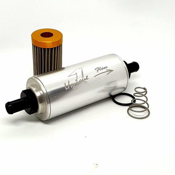 Filtro De Combustível Lavável Gd Elemento 100 Micros Inox