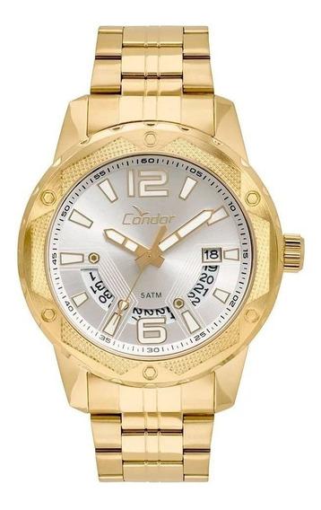 Relógio Condor Dourado Co2415bl/4k Original Garantia E Nf