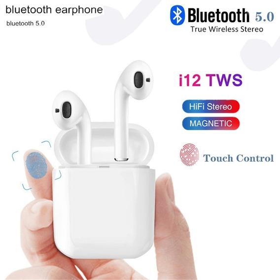 Audifonos Bluetooth Inalambricos Con Microfono I12 Tws
