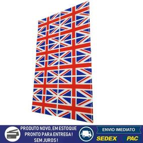 Adesivo Resinado Bandeira Inglaterra 4,5 X 9,0 - 10 Unidades