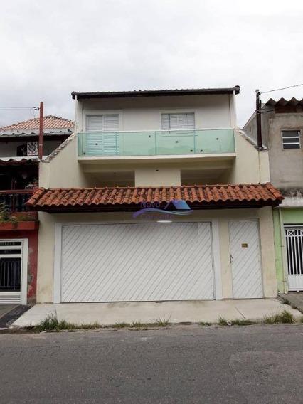 Sobrado Com 3 Dormitórios À Venda, 373 M² Por R$ 595.000 - Jardim Nossa Senhora Do Carmo - São Paulo/sp - So0076
