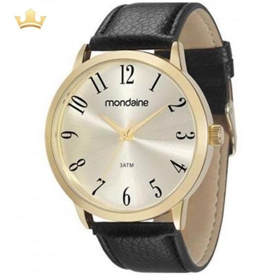 Relógio Mondaine Masculino 83286gpmvdh2 Com Nf